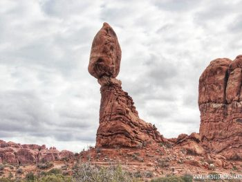 Balanced Rock Arches National Park Utah