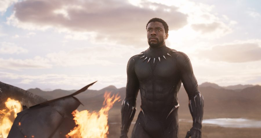 Marvel Studios' BLACK PANTHERT'Challa/Black Panther (Chadwick Boseman)Ph: Film Frame©Marvel Studios 2018