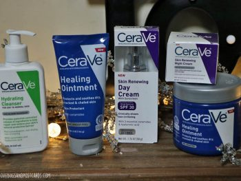 Winter skincare routine with CeraVe
