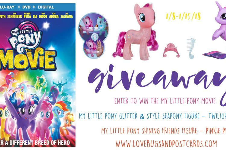 My Little Pony Movie & Toys Giveaway