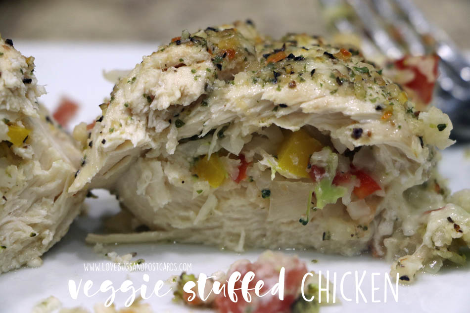 Veggie Stuffed Chicken