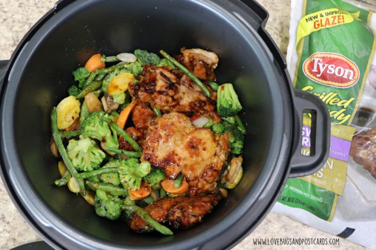Healthier quick prep meals with Tyson