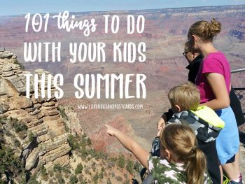 101 things to do with your kids this summer