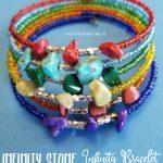 DIY Avengers Infinity Stone Infinity Bracelet