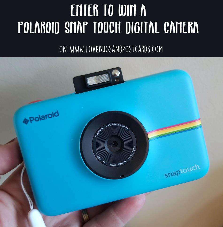 Polaroid Snap Touch Digital Camera Giveaway