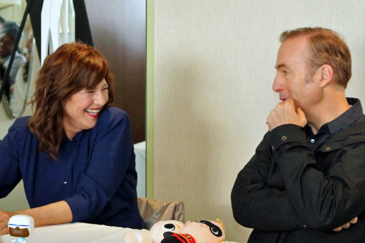 Incredibles 2 Interview with Bob Odenkirk & Catherine Keener #Incredibles2Event