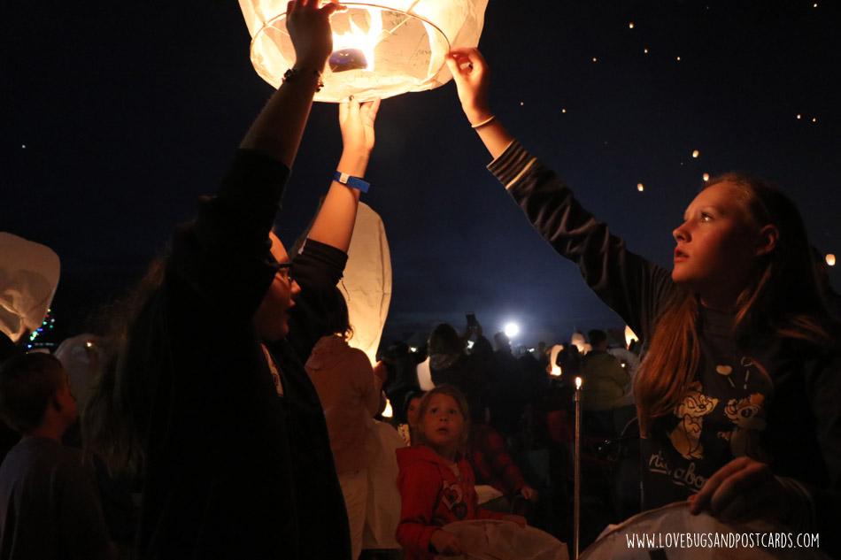 The Lantern Festival in Utah