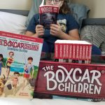 The Boxcar Children - Surprise Island + Bookshelf Book Set Giveaway
