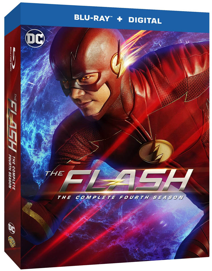 The Flash: The Complete Fourth Season on Blu-ray and DVD 8/28