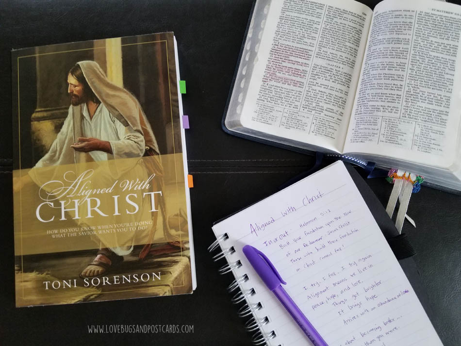 Aligned with Christ by Toni Sorenson