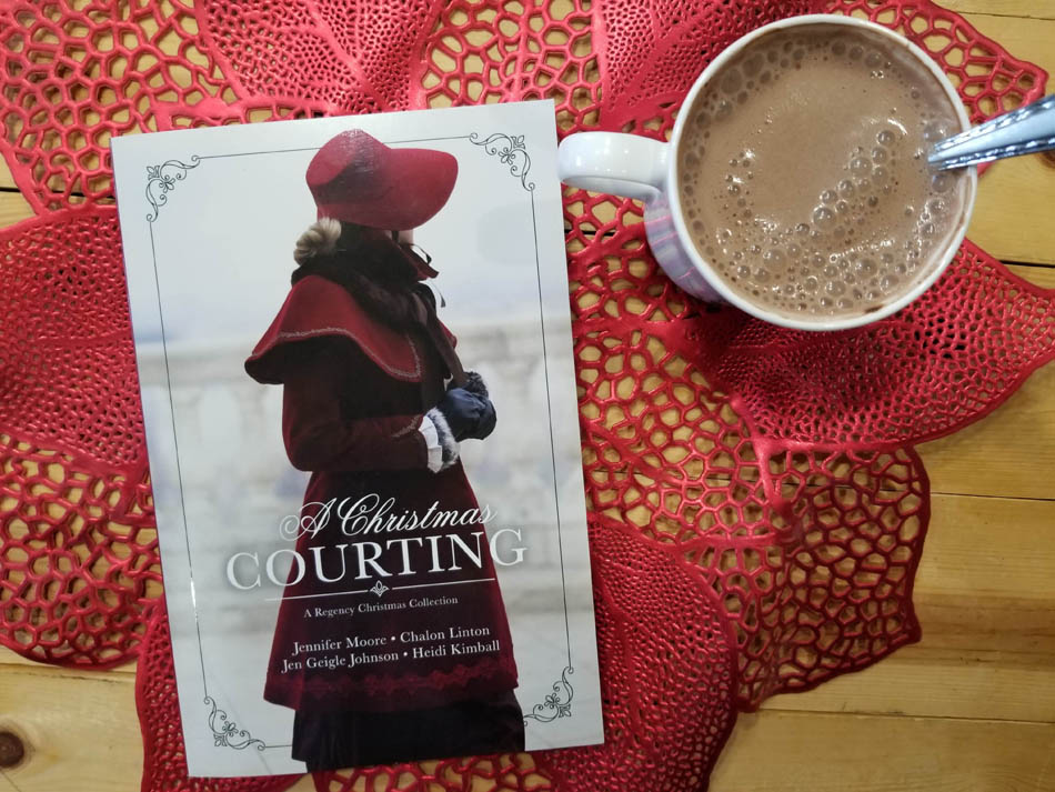 A Christmas Courting Book Review + Giveaway