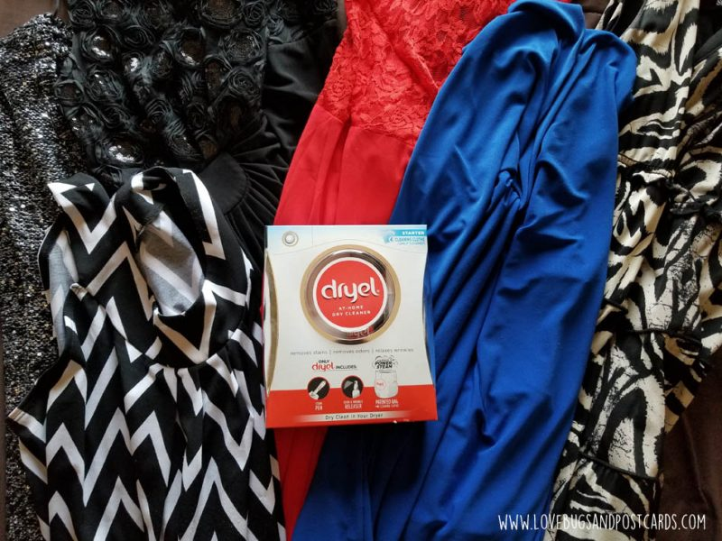 Saving money on dry cleaning by using Dryel