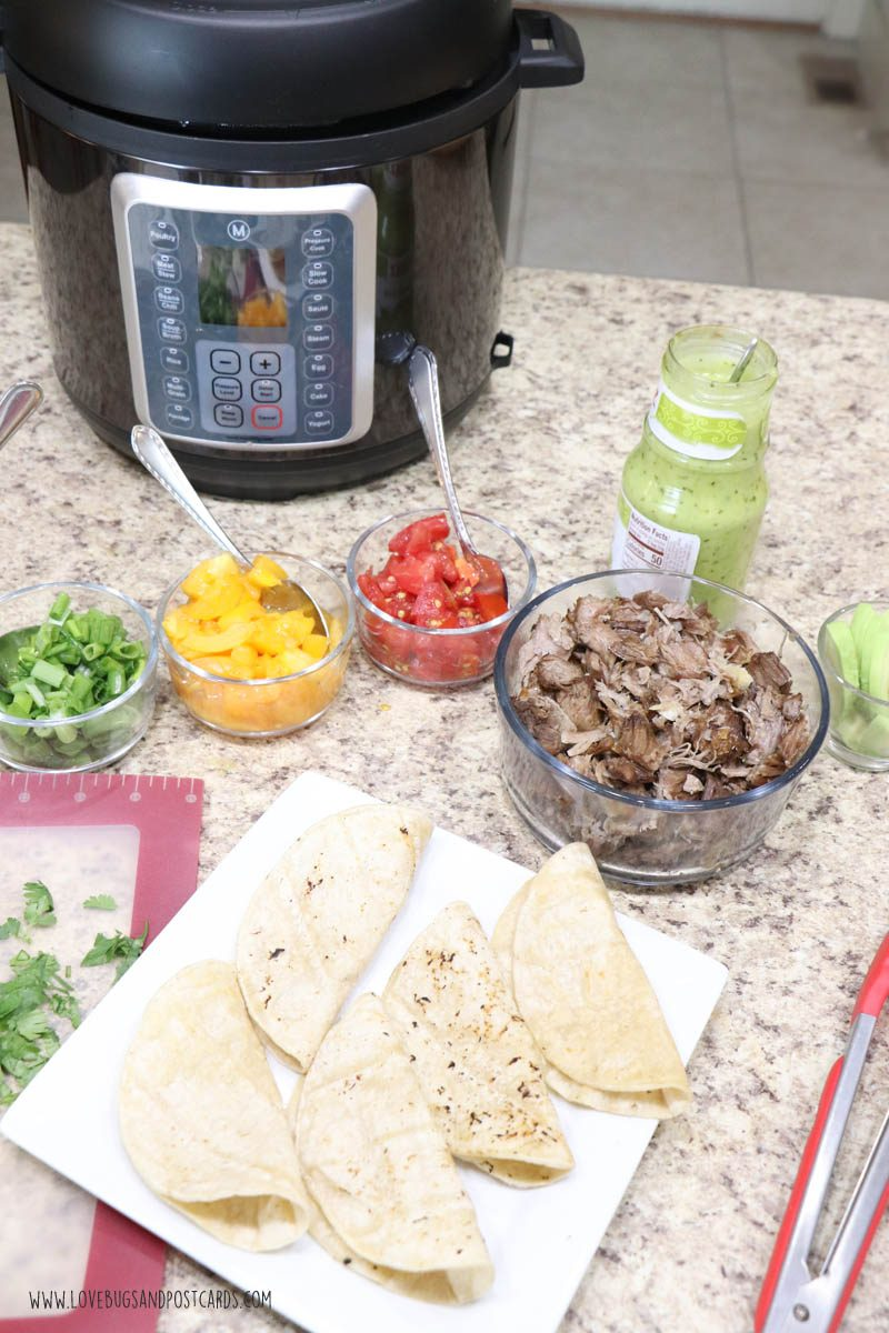 Pressure Cooker Pork Carnitas