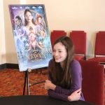 Interview with Mackenzie Foy about her role as Clara in Disney's The Nutcracker and the Four Realms #disneysnutcrackerevent