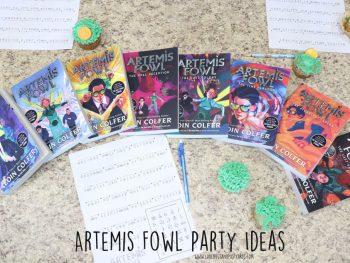 Artemis Fowl Party Ideas