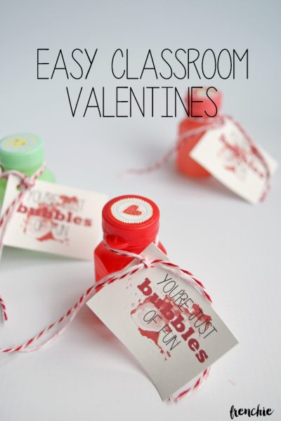 FREE Valentine's Printables - Bubbles of Fun Valentine