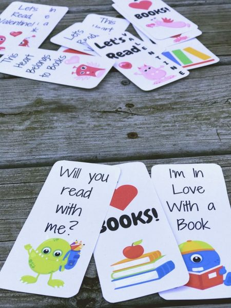 FREE Valentine's Printables - Valentine's Day Bookmark Printable