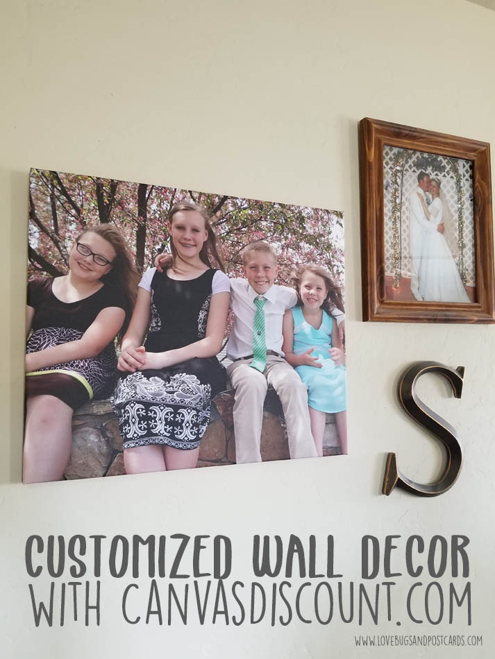 Customized wall decor with CanvasDiscount
