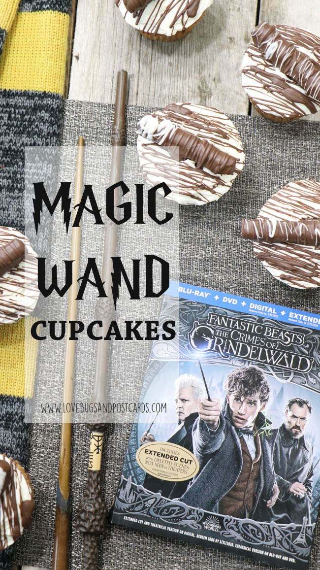 Magic Wand Cupcakes