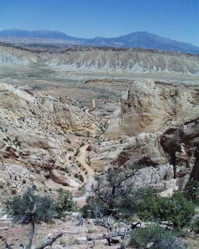 Burr Trail Switchbacks