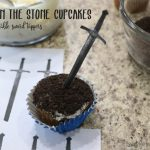 Sword in the Stone cupcakes