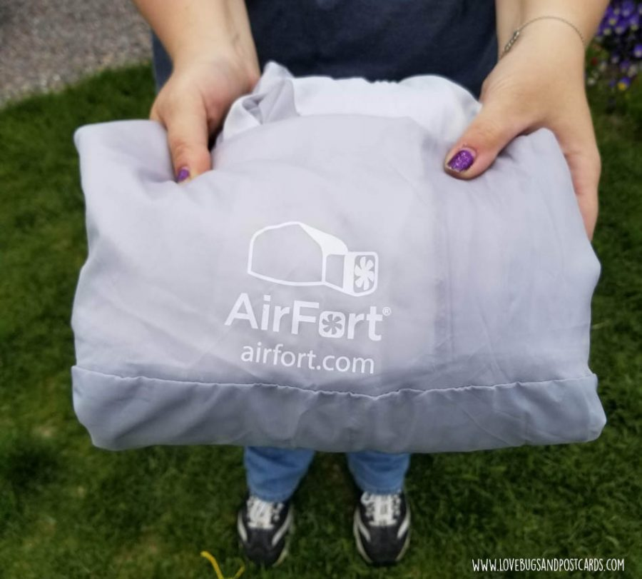 AirFort is easy to put away and store