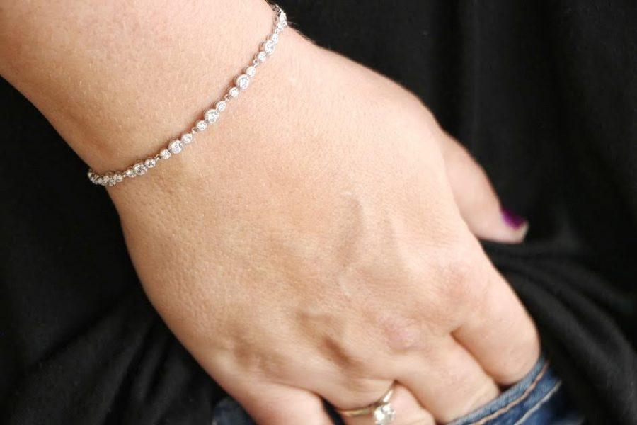 Diamond Bracelet from Anjolee