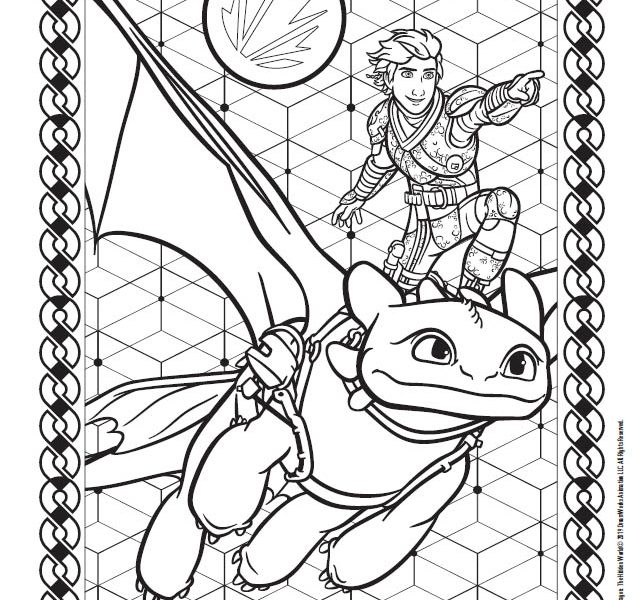 How To Train Your Dragon The Hidden World Activity Sheets Lbpc