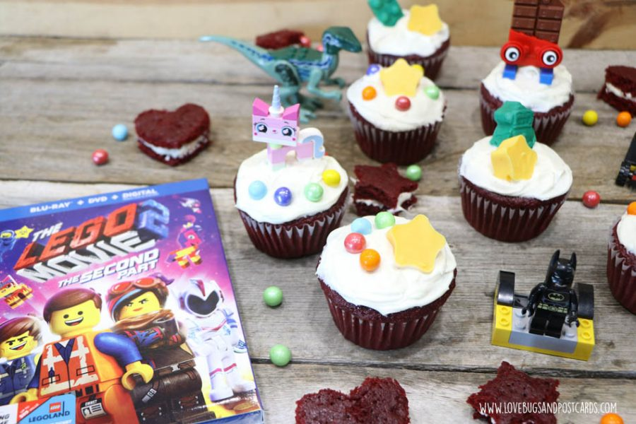 The LEGO Movie 2 giveaway & cupcakes