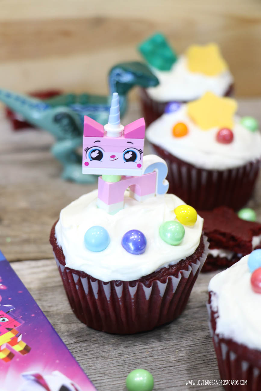 LEGO Movie 2 Cupcakes