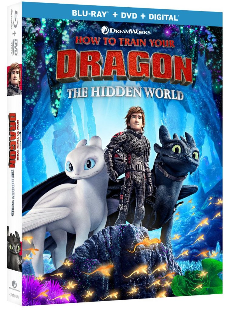 How to Train Your Dragon The Hidden World DVD Case