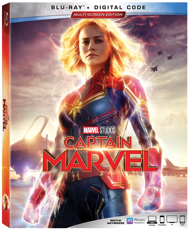 Captain Marvel Movie now available to own