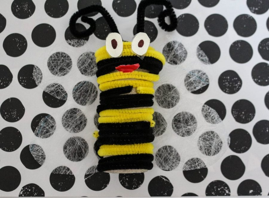 Pipe Cleaner Bee Craft