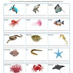Aquarium Scavenger Hunt printable