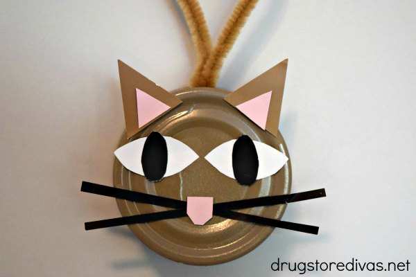 Cat Tin cat craft