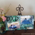 DAD Photo Board DIY + Father's Day Crafts