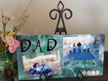 Dad Photo Board