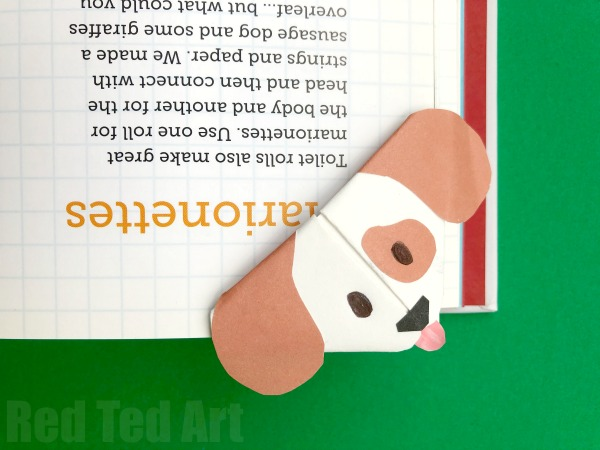 Dog Bookmark Craft