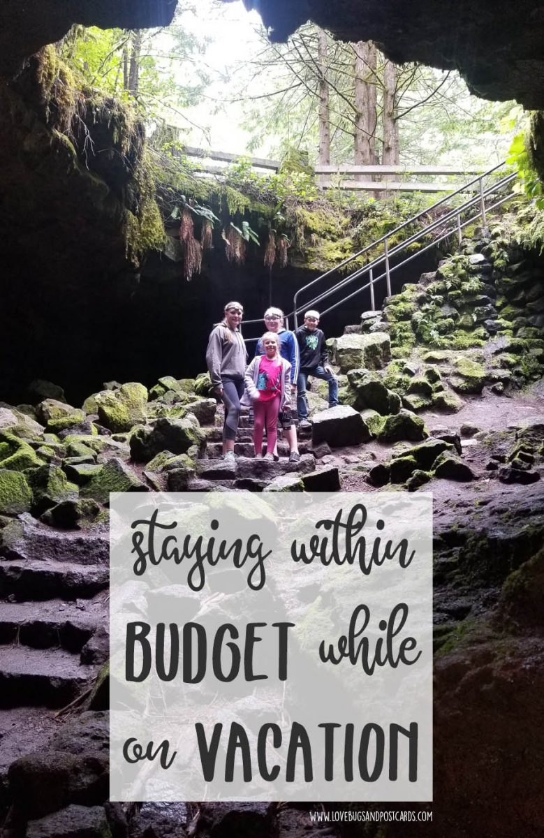 Staying within budget while on vacation
