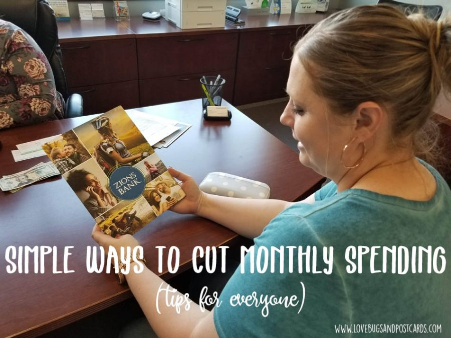 Simple ways to cut monthly spending (tips for everyone)