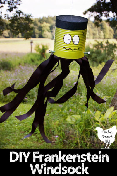 Frankenstein Windsock Outdoor Halloween Decoration - Halloween Crafts