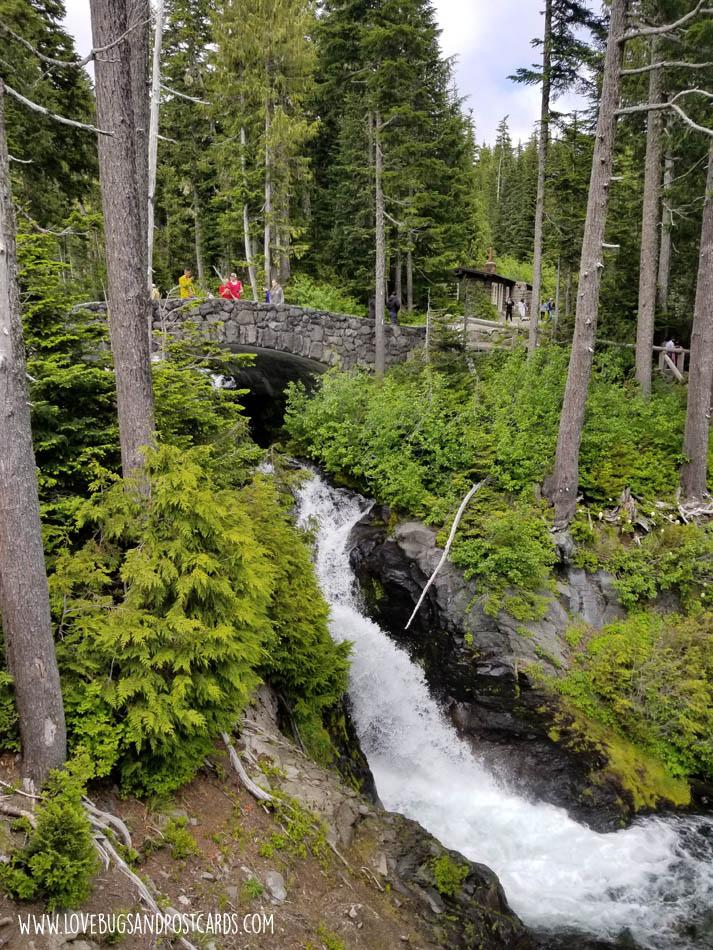 Narada Falls in Mt. Rainier National Park