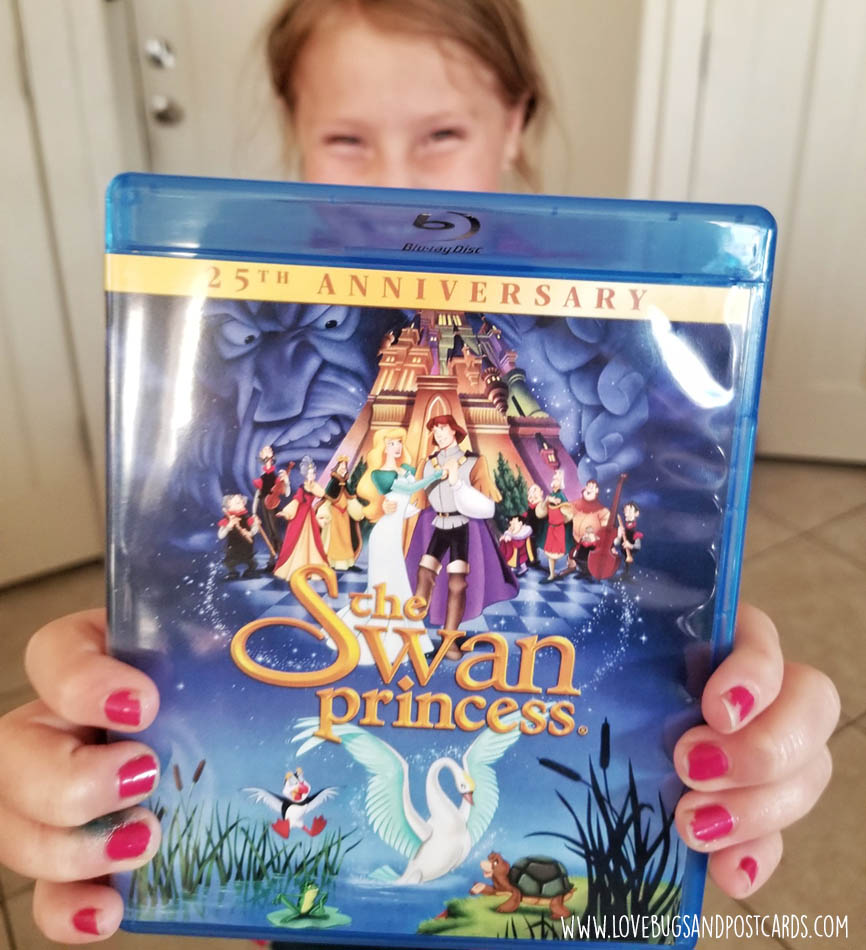 The Swan Princess Movie 25th Anniversary Edition