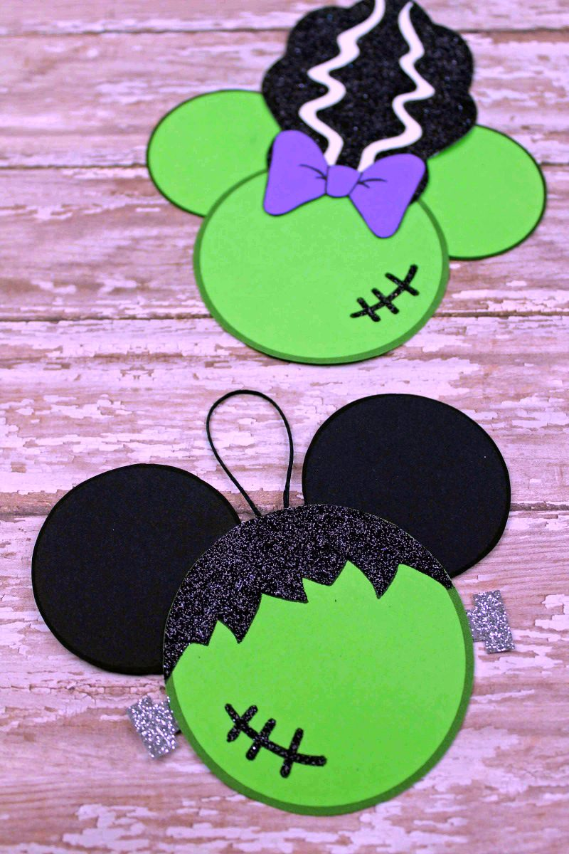 Printable Disney Halloween Frankenstein Craft - Halloween Crafts