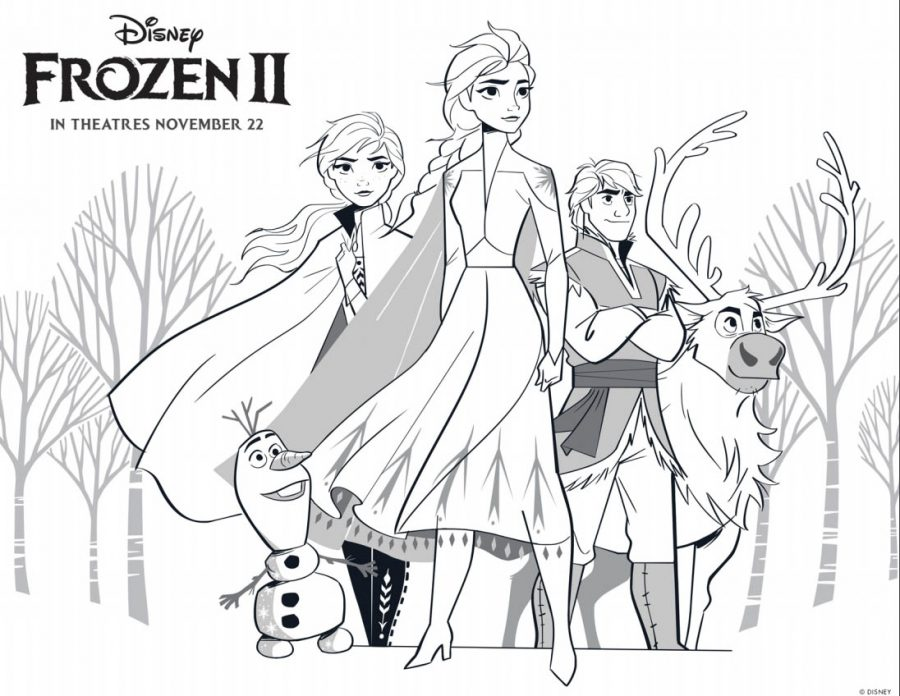Disney's FROZEN 2 Coloring Pages