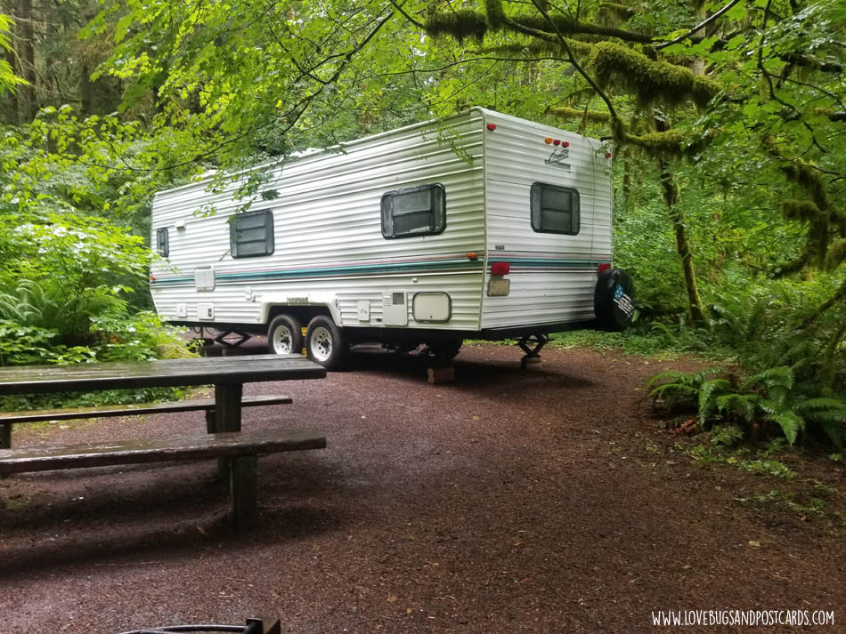 Klahowya Campground in Port Angeles, WA
