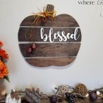 Wood Pumpkin Sign DIY