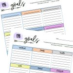 Goal Tracking Sheet Printable