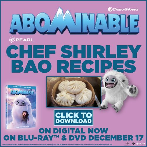 DreamWorks Abominable treats