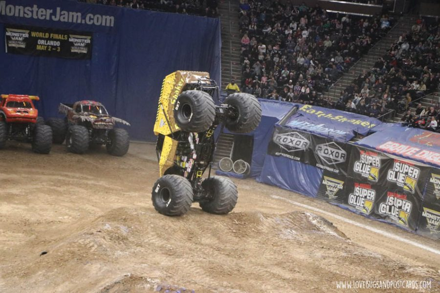 Earth Shaker Monster Jam